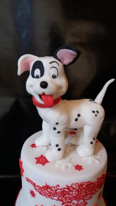 dalmation cake by Petra