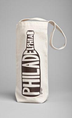 MAPTOTE - PHILADELPHIA WINE TOTE   do the kramers need this? @Ann Bogran