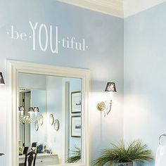 Cutting Edge Stencils - BeYOUtiful Wall Quote Stencil