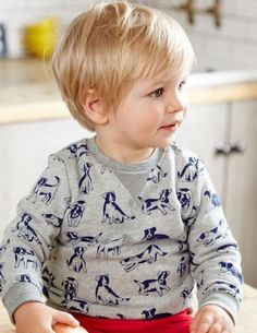 Image result for medium length toddler boy haircuts