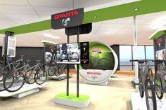 Shop in Shop interieur fietsenwinkel | Projectinrichting | Interieurbouw | Bekijk ons complete portfolio op www.kopexpo.nl | KOPexpo