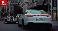 Porsche 919 And Panamera 4 E-Hybrid Roll Through London