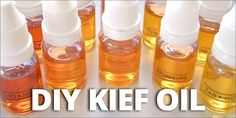 Check out this video on how to make your own potent kief oil!