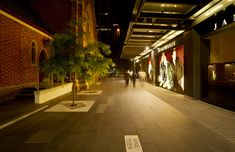 Wesley Quarter by Hassell. Location: Corner of Hay and William Streets, Perth, Western Australia. 2009 | Landezine