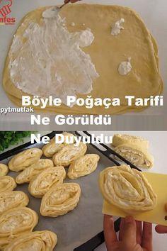 Pizza Pastry, Turkish Tea, Tea Time Snacks, Food Art, Tart, Food And Drink, Bread, Cooking, Breakfast