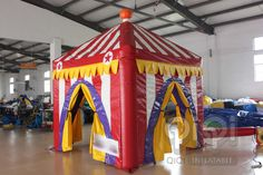 https://flic.kr/p/xugYRm | Inflatable happy party market stand tent | This is a common party tent suitable for different parties, which could be installed inside as well as outdoor. The tent tops are made from PVC tarpaulin . Meets EN14960 and EN71, material fire-retardant. Wall hanging velcro is pre-attached to the top enabling an air tight connection between tops and walls. Also with balloons and light hanging.Custom design this tents for specific applications is available.