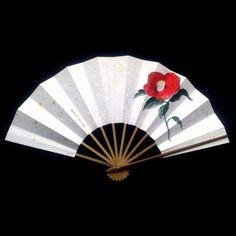 Japanese Dance Fan Vintage Hand Fan Sensu Ogi by VintageFromJapan
