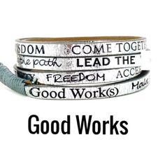 Original Good Works Wrap Bracelet 100% Leather. Metallic Silver. Purchased a few years ago never worn. Also can be wrapped around your ankle for a boho chic style..... Good Works Jewelry Bracelets