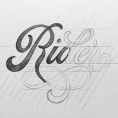 The best of design and typography. Hand Lettering 101, Hand Lettering Tutorial, Types Of Lettering, Lettering Styles, Graffiti Lettering, Lettering Design, Typography Layout, Vintage Typography, Typography Letters