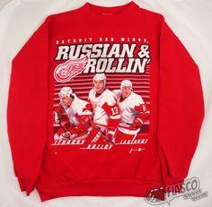 Fiasco Street Wear: Deadstock Detroit Red Wings Sweatshirt.