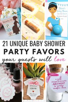 Shower Favor Ideas 21 ideas for baby shower thank you gifts and favors. A ton of DIY gift ideas for your baby shower guests and ideas for baby shower thank you gifts and favors. A ton of DIY gift ideas for your baby shower guests and hostess! Baby Shower Favours For Guests, Baby Shower Thank You Gifts, Baby Shower Prizes, Baby Favors, Baby Shower Party Favors, Baby Shower Themes, Baby Boy Shower, Baby Shower Decorations, Shower Ideas