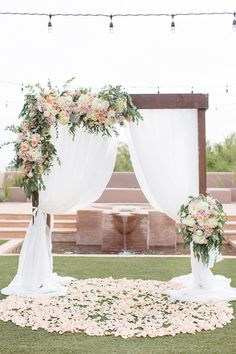 Female flower wedding in the Arizona desert - Wedding. - Female flower wedding in the Arizona desert – Wedding. – # Arizona desert wedding t - Wedding Ceremony Arch, Wedding Scene, Wedding Church, Table Wedding, Wedding Backyard, Indoor Wedding, Party Wedding, Wedding Bride, Wedding Ideas