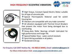 Light Concrete Compaction Equipment Types Of Concrete, Electric Motor, Eccentric, India, Delhi India, Indian