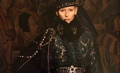 Tilda Swinton for the Chanel Paris-Edinburgh Collection