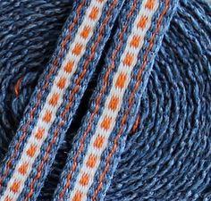 Inkle Weaving Inkle Band Inkle Trim Silk and Wool by inkleing