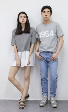 Korean couple style