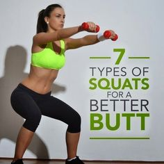 6 Types of Squats for a Better Butt