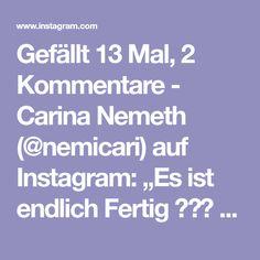 """Gefällt 13 Mal, 2 Kommentare - Carina Nemeth (@nemicari) auf Instagram: """"Es ist endlich Fertig 🎨👩🎨 mein neuestes Werk - gibt's leider nicht zu kaufen, hab es für meine…"""" Carina, Homemade Art, Instagram, Homemade, Amazing"""