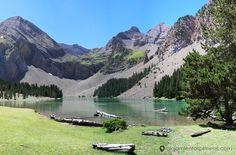 El Ibón de Plan o Bassa de la Mora es uno de los lagos más bonitos del Pirineo Aragonés. Se accede desde la localidad de Saravillo, en el valle de Chistau.