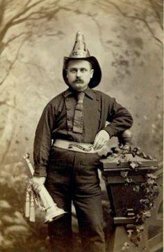 19th century fireman