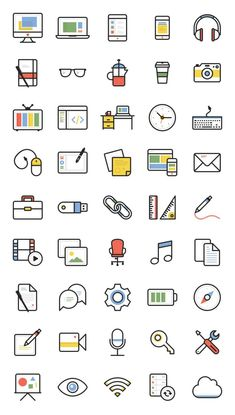 Dashel Icon Set - - Fribly There are icons that you can find quite easily, and icons that are difficult to come across. With this icon set, you get a set of 45 free icons available - posted under by Fribly Editorial Icon Design, Web Design, Flat Design Icons, Graphic Design Cv, Design Layouts, Icon Set, Icon Icon, Icones Cv, Business Icons