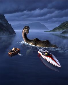Loch Ness Monster | Jerry LoFaro
