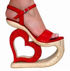 CrAzY Valentine's Day date shoes?!
