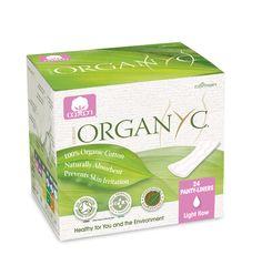 100% Organic Cotton Panty Liners