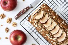 Apple Walnut Oat Bread (gluten-free, dairy-free)