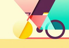 Ray Oranges' Illustrations have a Beautiful Combination of Colour and Simple…