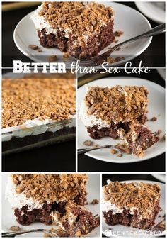 Better Than Sex Cake Recipe -- the best way to doctor up a box cake mix!!!