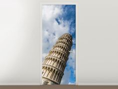 Tür #Tapete Der Tum von Pisa