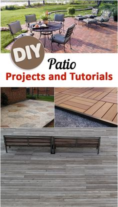 DIY Patio Projects and Tutorials