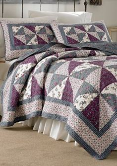 Laura Ashley  Selena Quilt Collection - Online Only