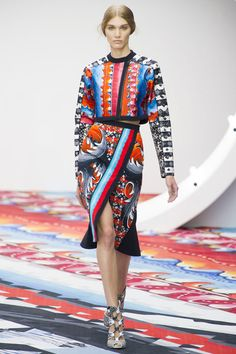 PETER PILOTTO WOMEN'S SPRING/SUMMER 2013 – LONDON FASHION WEEK | The Curiously Creative Chirag H Patel