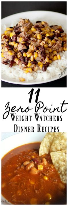 These Zero Point Weight Watchers Dinner Recipes are tasty and will help you stick with your weight watchers meal plan! Easy Weight Watcher dinner recipes that are zero points!