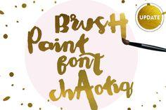 Chaotiq Modern Paint Brush Font by mycandythemes on Creative Market