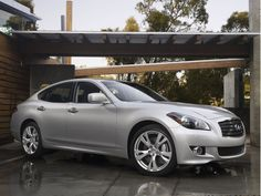 2011 Infiniti M37.  This is my own car, but I think it looks good in Palm Springs!