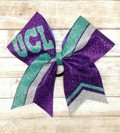 Hey, I found this really awesome Etsy listing at https://www.etsy.com/listing/503005599/custom-cheer-bow-you-pick-colors-team