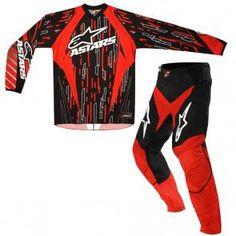 Kit Calça + Camisa Alpinestars Racer 2012 $299.90
