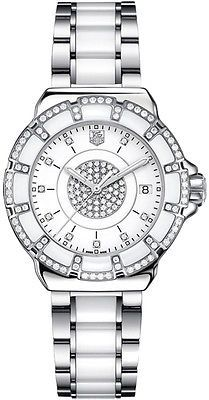New tag heuer formula 1 diamond ladies #ceramic #watch #wah121d.ba0861,  View more on the LINK: http://www.zeppy.io/product/gb/2/381252941088/