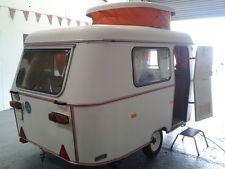Small Vintage Retro 1976 Eriba Puck 2 berth POP TOP caravan lightweight touring