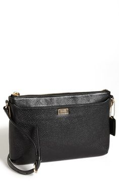 """$158 COACH 'Madison - New Swingpack' Leather Crossbody Bag, Small 