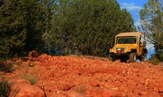 A Day in the West Jeep Tours - Sedona: Sedona 2-hour Jeep Tour plus Trolley Tour from A Day in the West (Up to 53% Off). Three Options Available.