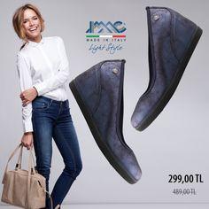 IMAC Dolgu topuklu hakiki deri ayakkabı ister jeanle ister ofis stilinizde kullanabileceğinin konforlu ve şık bir seçenek. 🏷 Ürün kodu: 207030 🏷Hakiki deri. 🇮🇹 Made in Italy. 📦 Ücretsiz kargo. 💳 Kredi kartına TAKSİT imkanı. 💰 Kapıda ödeme imkanı.