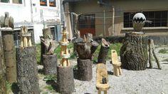 Sculptures tronçonneuse→ Forêt dans La Ville → Sainte-Marie-Aux-Mînes