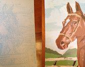 Craftmaster Equine Beauties, Thoroughbreds Series Paint by Number - set of 2