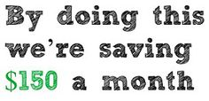New blog post! Five Ways We're Saving Money. [Getting creative with our budget since we cut out my salary so that I could stay home with my daughter. Looking at the big picture, and simplifying!] #saving #savings #money #finance #budget #budgeting #simplify #simplifying #blog      http://mamasdailycraic.com/2015/03/23/five-ways-were-saving-money/