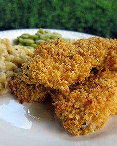 Waffle Crusted Chicken Tenders