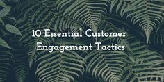 To succeed in the era of social media, mobile first, and the internet of things, brands need to evolve and engage their customers in a way that fosters customer loyalty and advocacy on a human level, not just as a brand... but also as a friend. Find out the 10 essential customer engagement tactics for social media marketers.